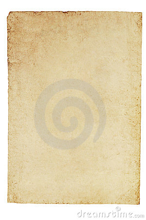 Old Parchment Paper Background
