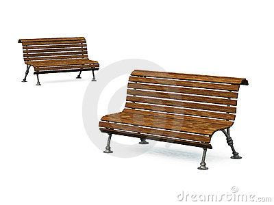 Old park bench 04