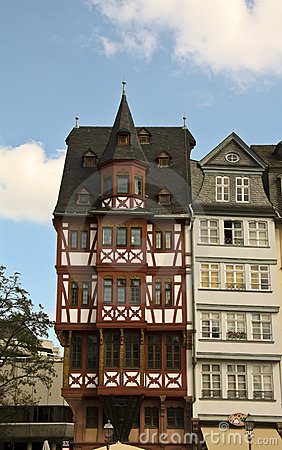 Old part of Frankfurt