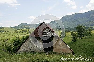 Old pastoral hut