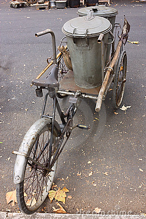 Old pedal cart
