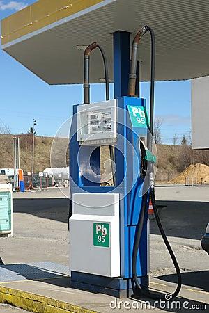 Old petrol distributor