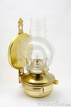 Old petroleum lamp