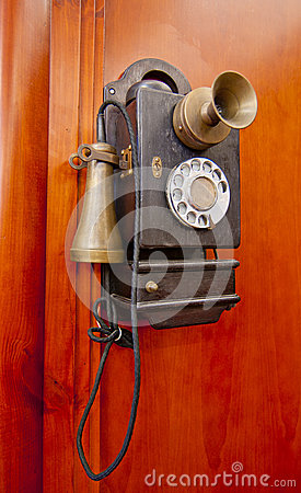 Free Old Phone Royalty Free Stock Photography - 26816327