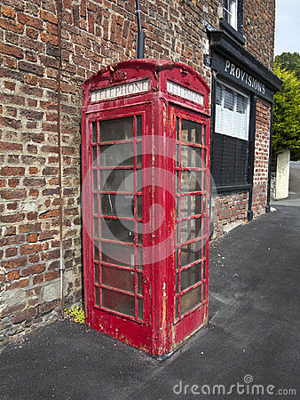 The old phone box