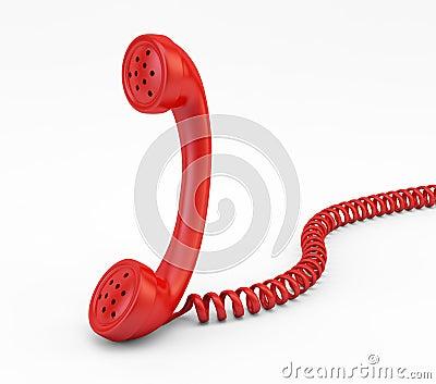 Old phone handset