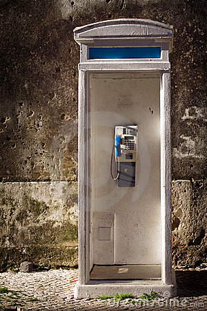 Free Old Phonebooth Stock Images - 18954354