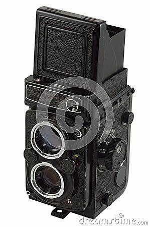 Free Old Photo Camera Stock Photo - 3362420