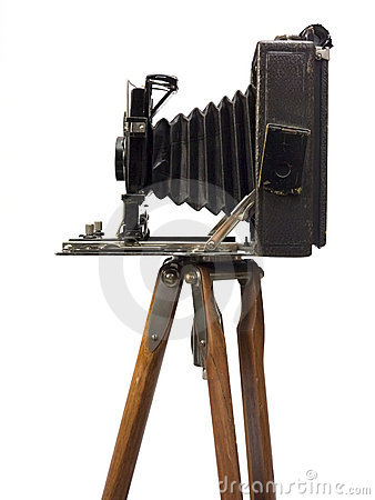 Free Old Photographic Camera Stock Photo - 5084510