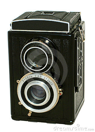Free Old Photographic Camera Royalty Free Stock Photos - 7460138