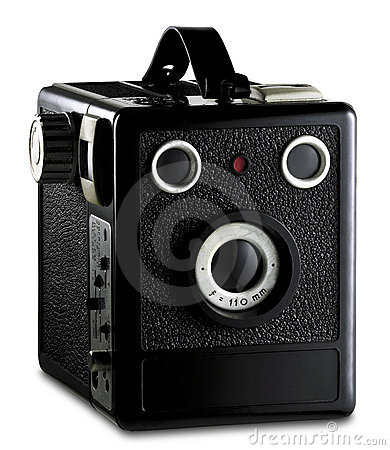 Old photography camera
