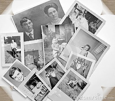 Old Photos in Black and White