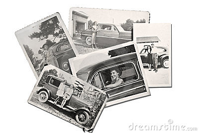 Old Photos People and Cars