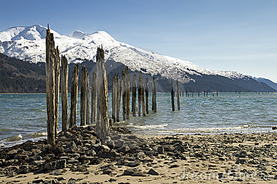 Old Pier in Alaska