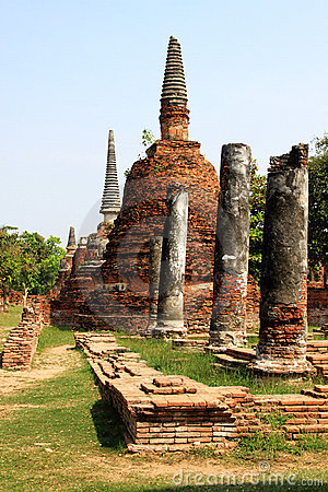 Old Pillars & Pagodas