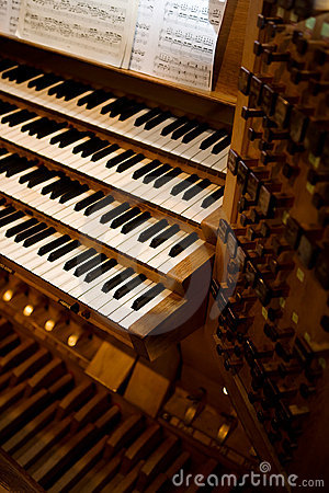 Free Old Pipe Organ Royalty Free Stock Photos - 4258058