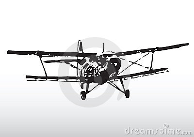 Old Plane Silhouette