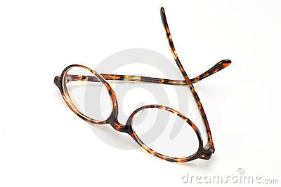 Old plastic frame spectacles