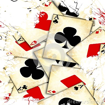 Free Old Playing Card Stock Image - 33824921