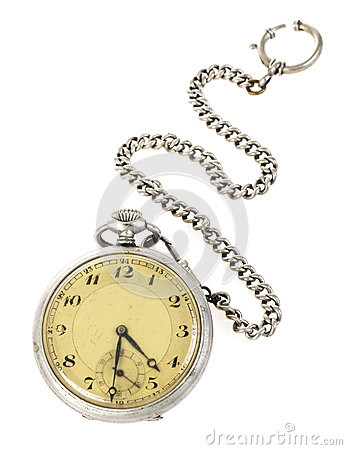 Free Old Pocket Watch Stock Image - 30045721
