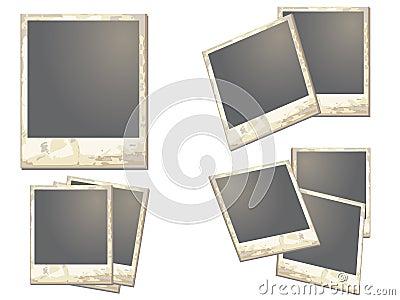 Old polaroid Frame