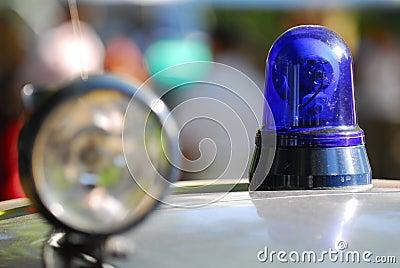 Old police light
