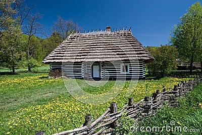 Old Polish house