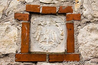 Old polish national emblem