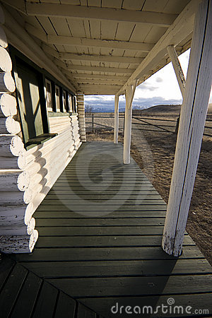 Free Old Porch Stock Image - 12562541
