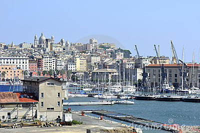 Old port of Genoa