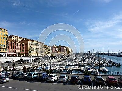 Old port at Nice, France