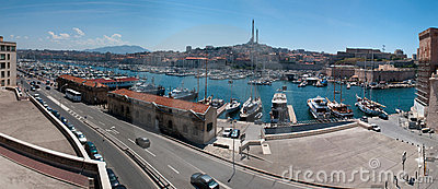 Old port (Vieux Port) Editorial Stock Image