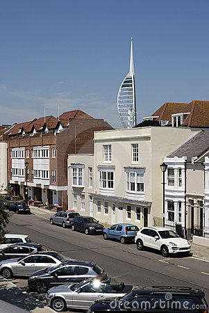 Old Portsmouth and Spinnaker Tower