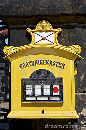 Free Old Post Box Royalty Free Stock Photography - 14268347