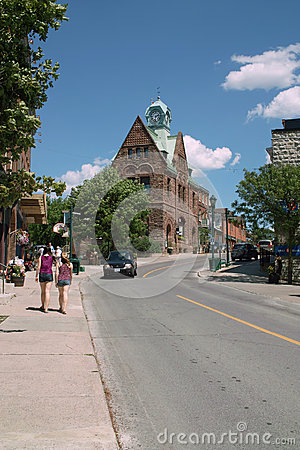 Old Post Office, Almonte Ontario Canada Editorial Photo