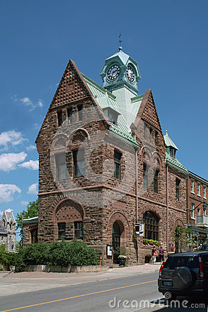 Old Post Office, Almonte Ontario Canada Editorial Photography