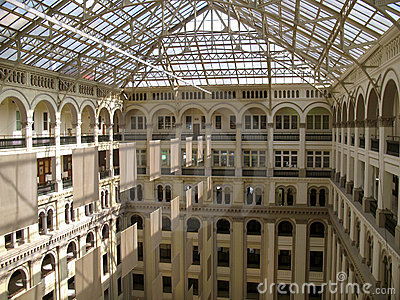 Old Post Office Interior Royalty Free Stock Photos Image 2463228