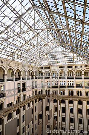 Free Old Post Office Pavilion Stock Photos - 68639563
