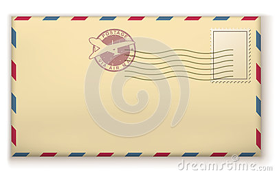 Old postage envelope
