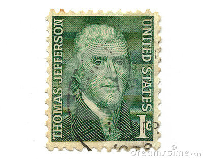 Old Postage Stamp From Usa 1 Cent Stock Photography Image 5659792