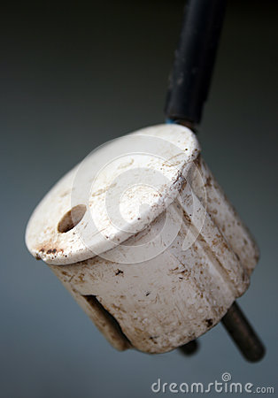 Old power plug