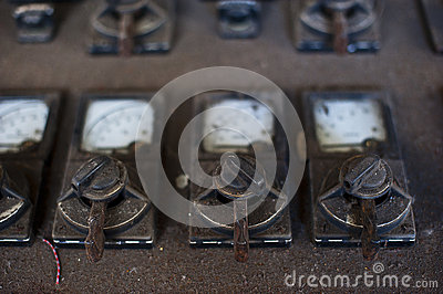 Old powerplant controls