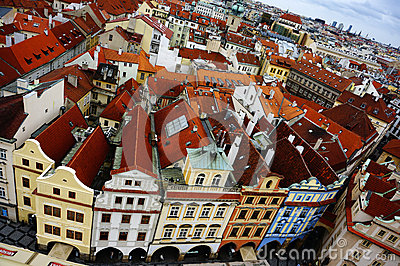 Old Prague City Editorial Photo