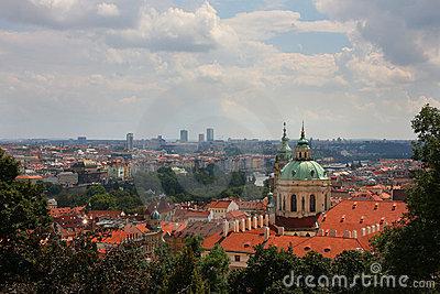 Old Prague panorama