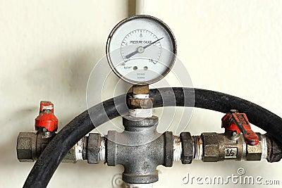 Old pressure gauge