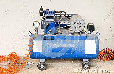Old pump compressor