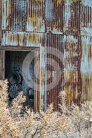 Free Old Pump House Shack Stock Photography - 48207942