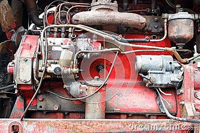 Old pump machine.