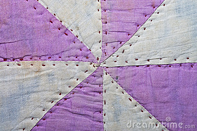 Old Quilt Pattern Fabric