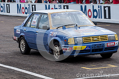 Old racing car Editorial Stock Image